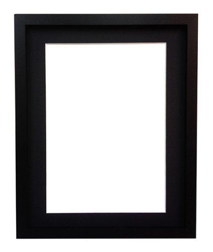 Río Negro Marco de fotos con soporte de color negro, madera MDF, 6 x ...