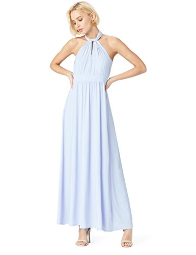 Donna Dress Jersey kentucky In Fable amp; Cotone Maxi Blue Truth Blu qBa0xtU