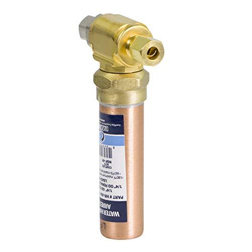 Everflow Supplies HR-AA-14COMP-NL Compression Tee Hammer Arrestor 1/4