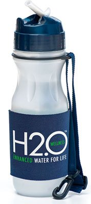 Wellness H2O Reusable Water Filtration Bottle