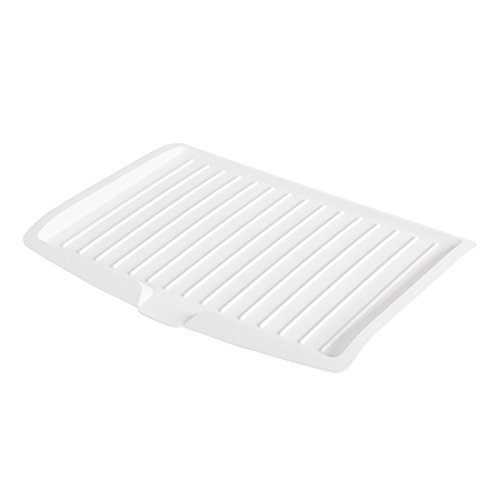 Changsin Kitchen Utility Draining Board|Light Weight, Space Efficient, Water Drain (White)