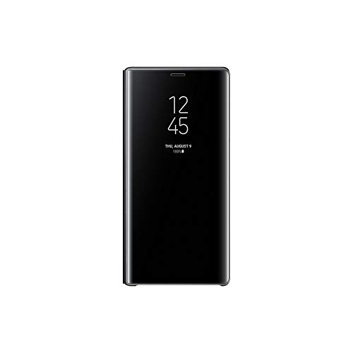 Official Samsung Galaxy Note 9 Case, S-View Flip Cover with Kickstand (Black)