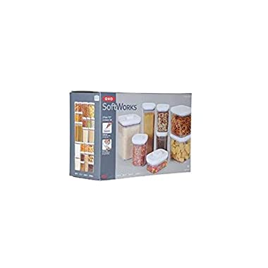 OXO Softworks 8pc pop container set