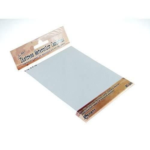 4,25 x5.5 Ranger afflizione Watercolor cartoncino confezione da 20