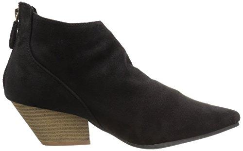 Sue Women's Ankle Polyurethane Rhythm Str 01 Black Qupid Bootie 6O0wqnqv