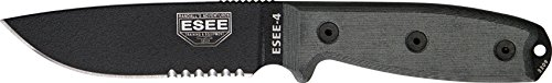 Esee Model 4 Part Serrated.