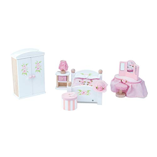 (Le Toy Van Dollhouse Furniture & Accessories, Master Bedroom)