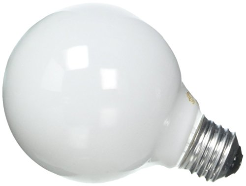 - GE Soft White Decorative 60W Incandescent G25 Globe Light Bulbs, 1.4 Year Life, 8 Pack (60 Watts)