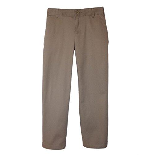 Daniel Jacob Big Boys' Husky Classic Twill Pants 1/2 Elas...