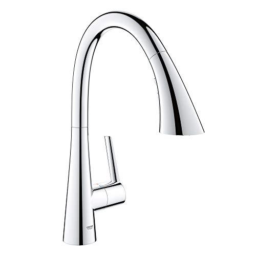 GROHE 32298003 Ladylux L2 Single-Handle Kitchen Faucet, Starlight Chrome