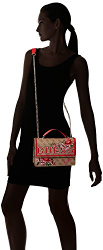 Logo Women's Cross Floral Body Guess Bag Cross Body Vikky Women's Multicolour Guess Vikky qfwXqAP