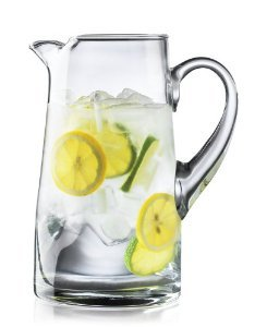 Libbey Premium Value Crisa Impressions 80 Ounce Clear Glass Pitcher