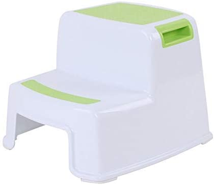 Green Graco Sturdy 2 Step Transition Step Stool