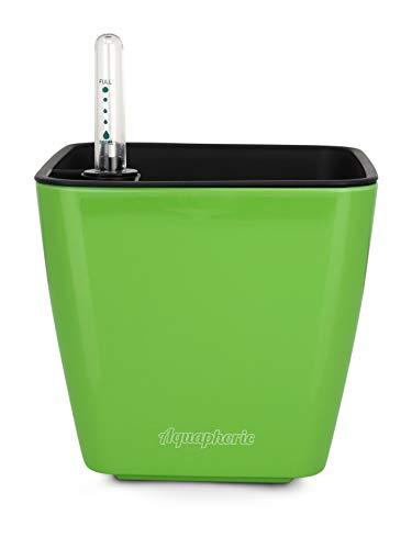 Aquaphoric Self Watering Planter (5) + Fiber Soil = Foolproof Indoor Home Garden. Decorative Planter Pot for All Plants, Flowers, Herbs, African