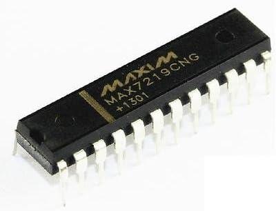 10 un MAX7219 Pantalla LED de 8 dígitos MAX7219CNG controlador DIP-24