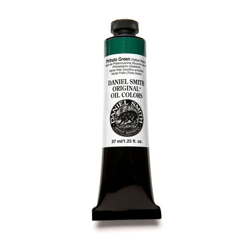 DANIEL SMITH Original Oil Color 37ml Paint Tube, Phthalo Green Yellow Shade