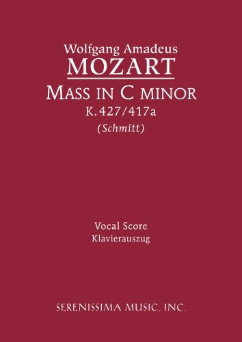 Mass in C minor, K. 427 - Vocal score (Latin Edition)