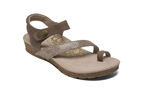 Buy womens toe loop sandals leather