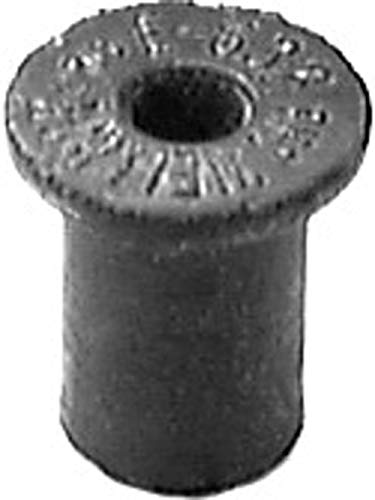 Well Dia (25 Well Nuts #6-32 Thread .452 Head Dia. Clipsandfasteners Inc)