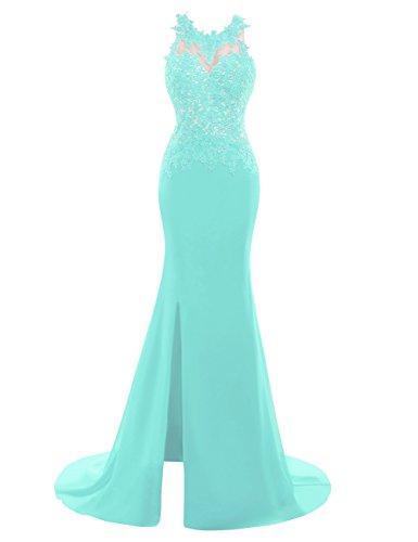 Back Slit Prom Dress - 2
