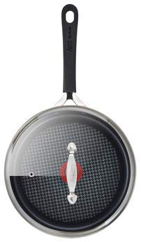 Jamie Oliver by Tefal Hard Anodised Non-Stick Saute Pan with lid 24cm Induction Ready