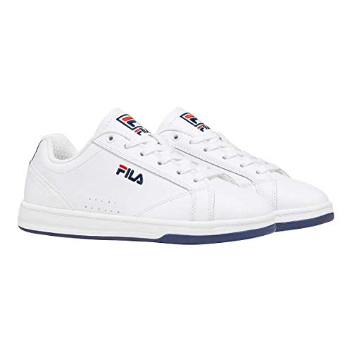 Fila Women's / Ladies Leather Court Shoes - Casual White Sneakers (9)