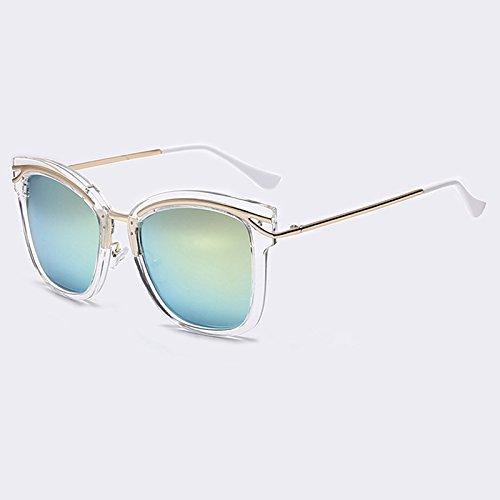sol TIANLIANG04 ESPEJO tan Lentes LENTES DE AOFLY de sol de UV400 Gafas C06 Oculos Plazas Anteojos C03 coloridas qrwgxprPI