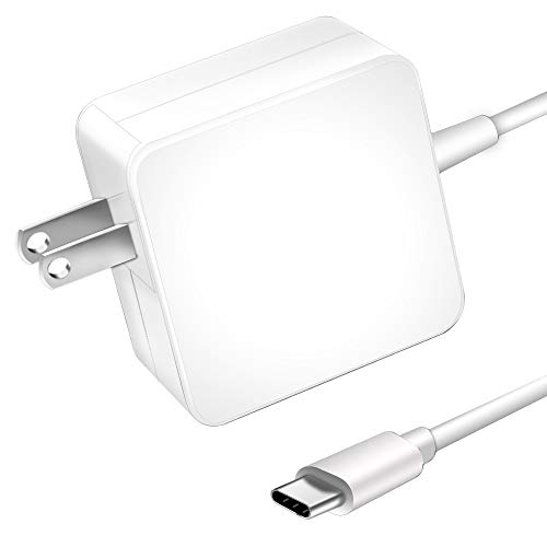 USB-C 65W/61W Type C Power Adapter Charger, WEGWANG Charger Compatible for  MacBook/Pro, Lenovo, ASUS, Acer, Dell, Huawei, HP and Other Laptops or