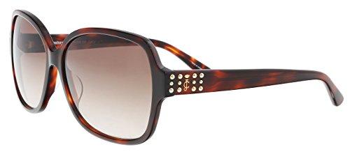 (Juicy Couture Women's Ju 592/s Square Sunglasses, DKHAVANA, 57 mm)
