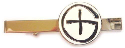 Geocaching GeoCoin PathTag Logo Tie Bar Clip