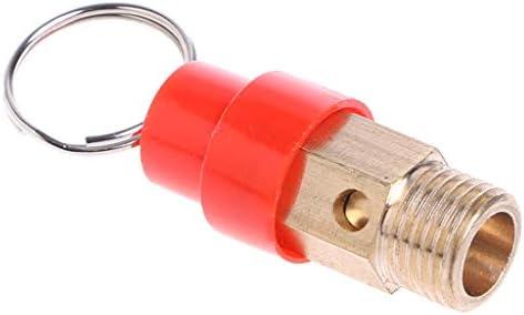 BIlinli Caliente 1/4 10KG BSP Compresor de Aire Válvula de liberación de Seguridad Regulador de Alivio de presión