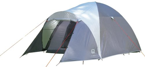 Outbound Tent – Outbound Klondike 5 Person Dome Tent (Grey, Large), Outdoor Stuffs