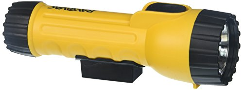 Rayovac 2D Industrial Yellow Flashlight with Krypton Bulb and - Flashlight Rayovac Industrial