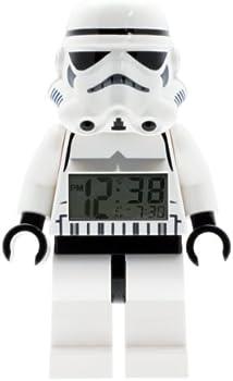 LEGO Star Wars Stormtrooper Minifigure Light Up Alarm Clock
