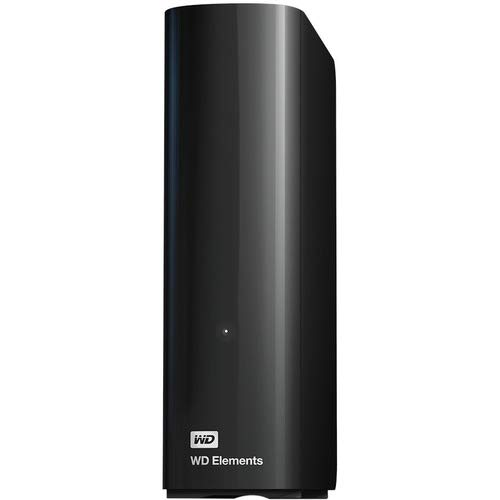 (TDSOURCING WESTERN DIGITAL WD Elements WDBWLG0080HBK 8 TB Hard Drive - External - Desktop - USB 3.0 Type A - Black)