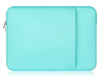 Merssavo Verde Caja del Ordenador Portátil de la Manga, 11 Llevar Laptop Cubre