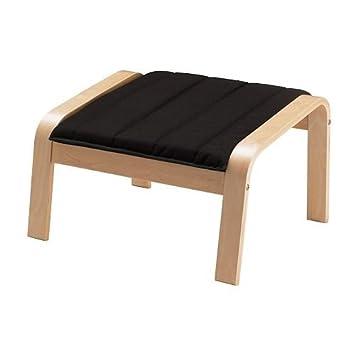 Marvelous Amazon Com Ikea Ottoman Birch Veneer Ransta Black Ocoug Best Dining Table And Chair Ideas Images Ocougorg