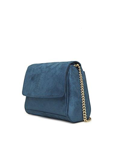 Women's Rag Blue Velvet Crossbody London London Crossbody Women's Bag Bag Velvet Rag PWxWwUOZ0q