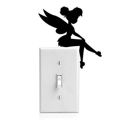 Tinker Bell Decal Sticker for Light Switch, Car Window, Laptop and More # 933 (4