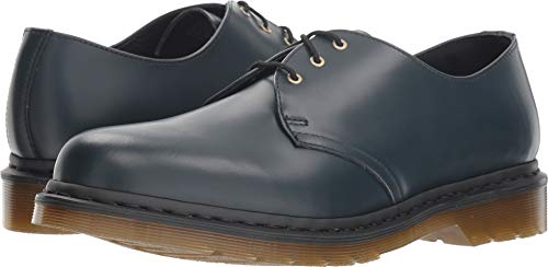 Dr. Martens - Unisex-Adult 1461 3 Eye Shoe, Size: 6 D(M) US / 5 F(M) UK / 7 B(M) US, Color: Navy - Blue Rubber Dr