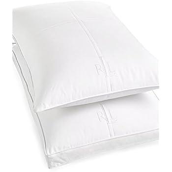 Amazon Com Lauren By Ralph Lauren Logo Jumbo Pillow