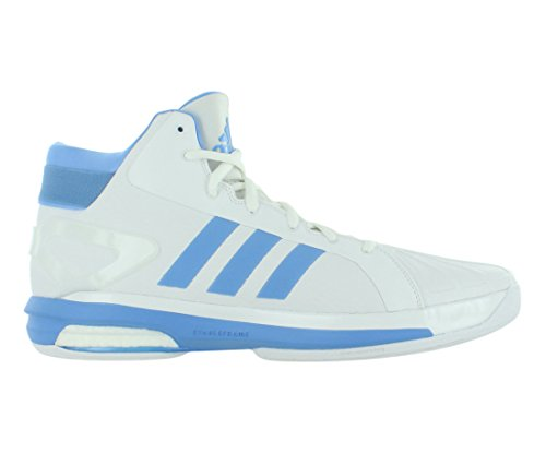 Adidas Sm Futurestar Boost Basket Mens Skor Vit / Blå