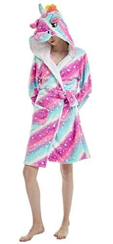 Hooded Plus Towel - XVOVX Adults Unicorn Robe Soft Flannel Plush Hooded Bathrobe Bathing Suits for Women Girls