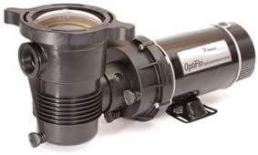 Pentair 347981 Optiflo Horizontal Discharge Aboveground Pool Pump With Cord And Standard Plug, 3/4 Hp