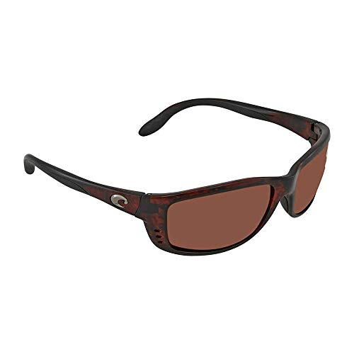 Costa Del Mar Zane Sunglasses Tortoise/Copper 580Plastic from Costa Del Mar