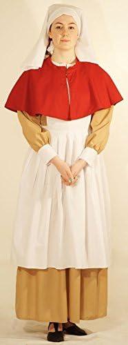 WW1//Victorian//Wartime//1940/'s-RED CROSS CRIMSON FIELD NURSE Fancy Dress-all sizes