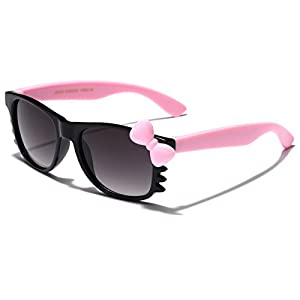Cute Hello Kitty Baby Toddler Sunglasses Age up to 4 years - Black & Pink
