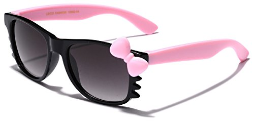 Cute Hello Kitty Baby Toddler Sunglasses Age up to 4 years - Black & - Toddler Sunglasses Girl