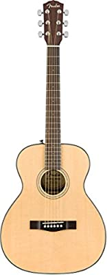 Fender CT-140SE with Case Travel Acoustic-Electric Guitar Natural from Fender