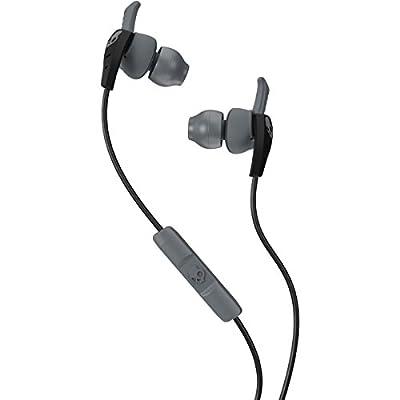 Skullcandy XTplyo In-Ear Sport Earbuds with Mic, Black/Gray